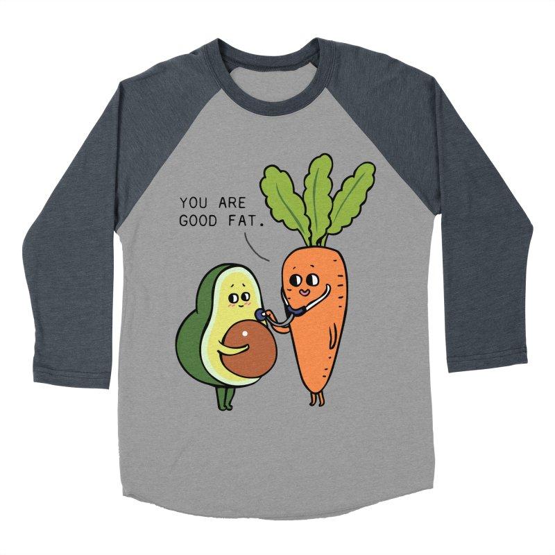 You are good fat Men's Baseball Triblend Longsleeve T-Shirt by huebucket's Artist Shop