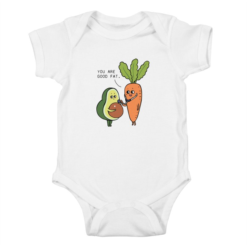 You are good fat Kids Baby Bodysuit by huebucket's Artist Shop