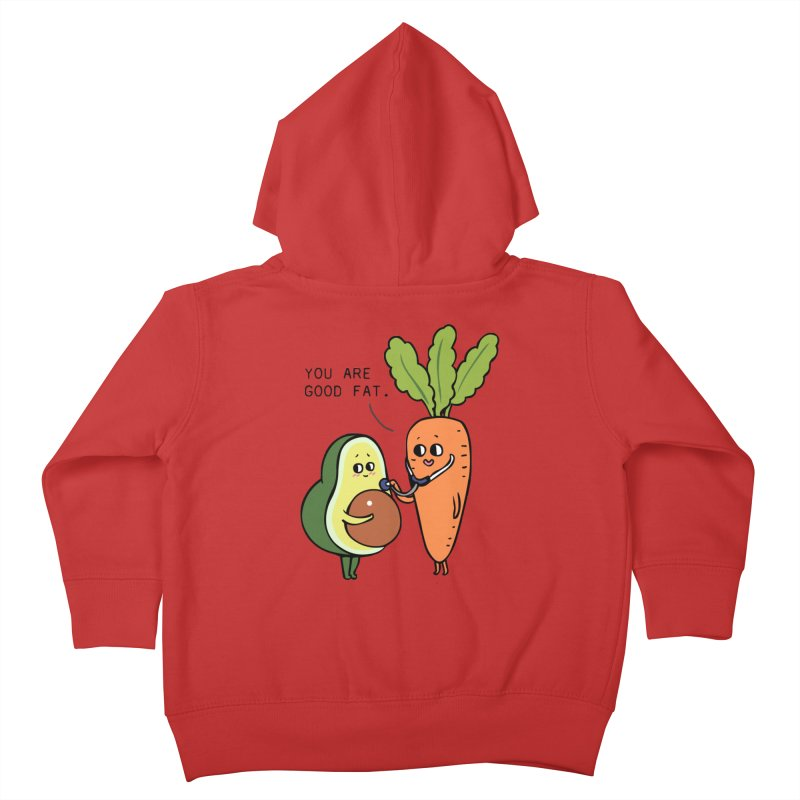 You are good fat Kids Toddler Zip-Up Hoody by huebucket's Artist Shop