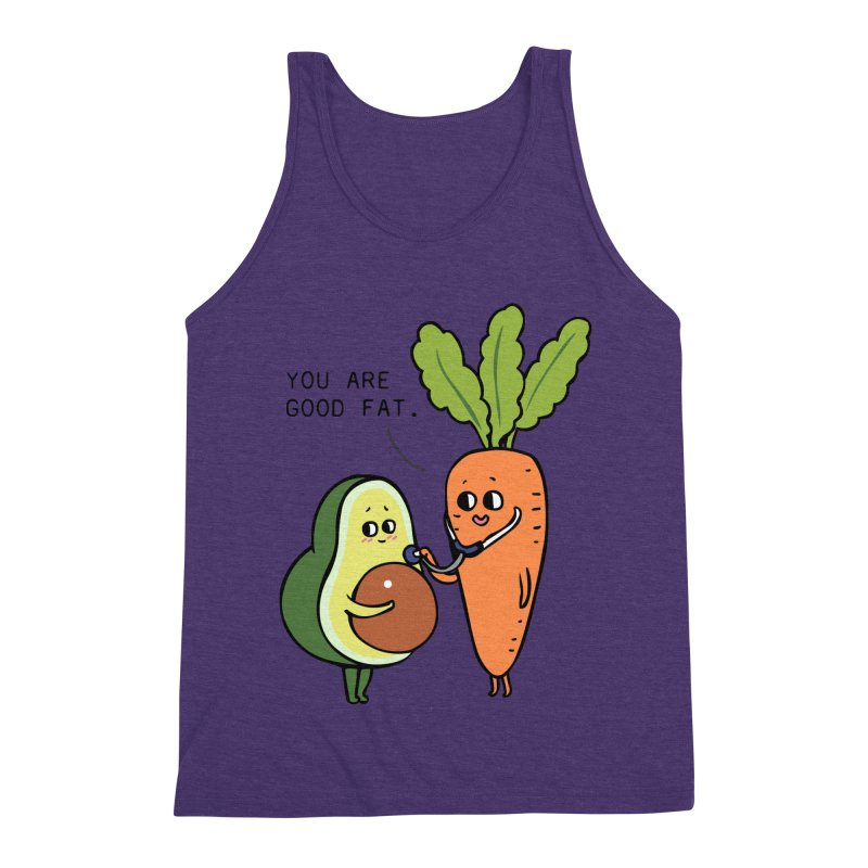 You are good fat Men's Triblend Tank by huebucket's Artist Shop