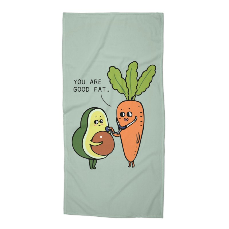 You are good fat Accessories Beach Towel by huebucket's Artist Shop