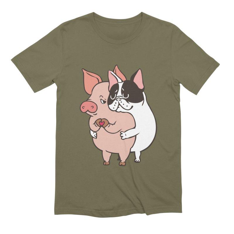 Friend Not Food Men's Extra Soft T-Shirt by huebucket's Artist Shop