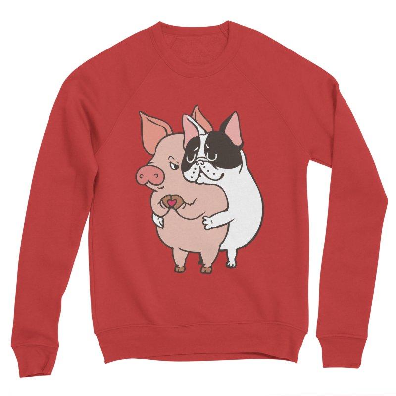 Friend Not Food Women's Sponge Fleece Sweatshirt by huebucket's Artist Shop