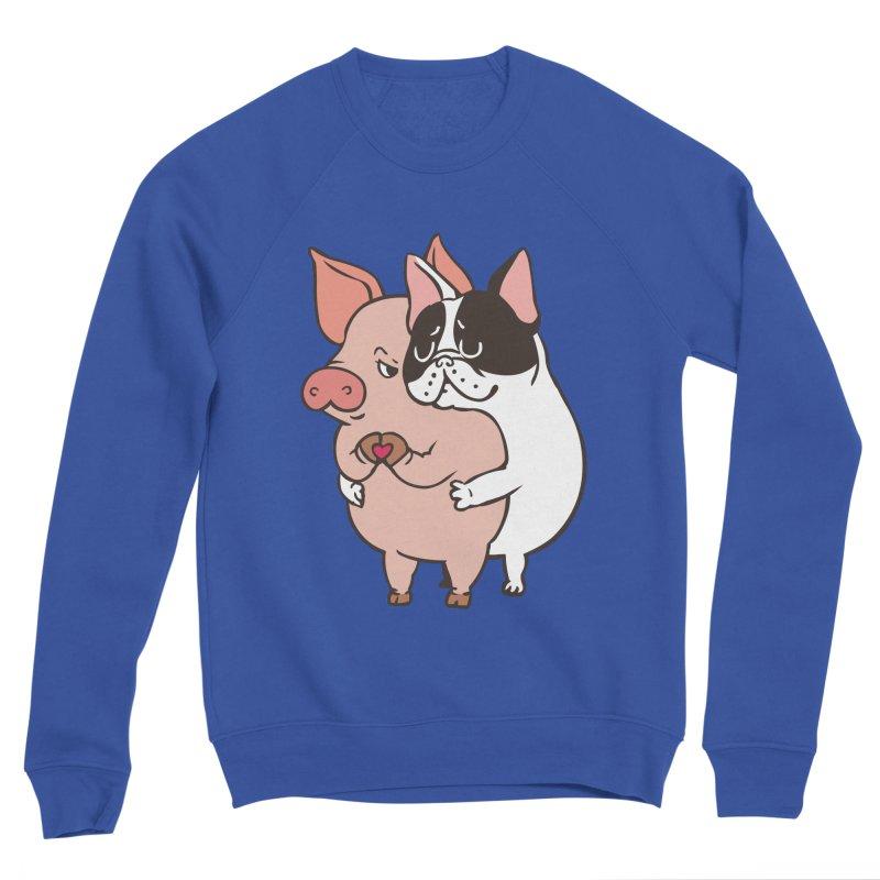 Friend Not Food Men's Sponge Fleece Sweatshirt by huebucket's Artist Shop