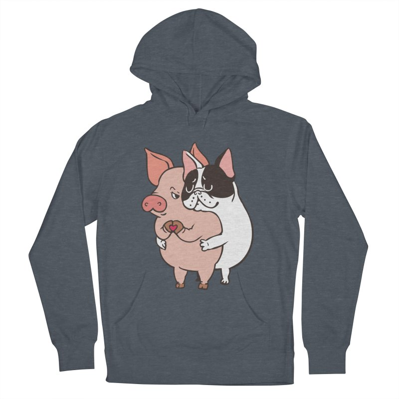 Friend Not Food Women's French Terry Pullover Hoody by huebucket's Artist Shop