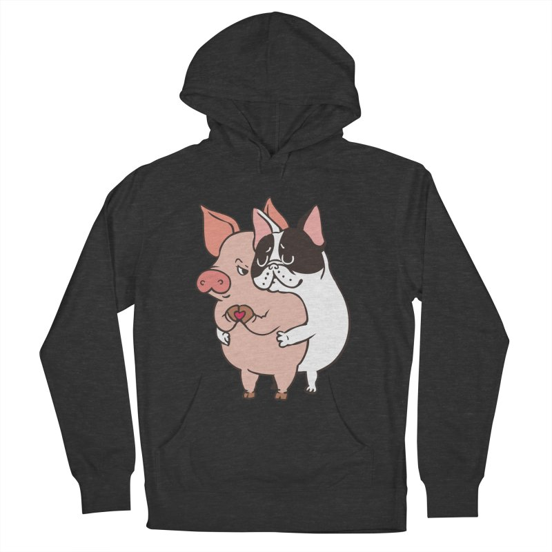 Friend Not Food Men's French Terry Pullover Hoody by huebucket's Artist Shop