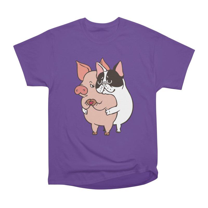 Friend Not Food Women's Heavyweight Unisex T-Shirt by huebucket's Artist Shop