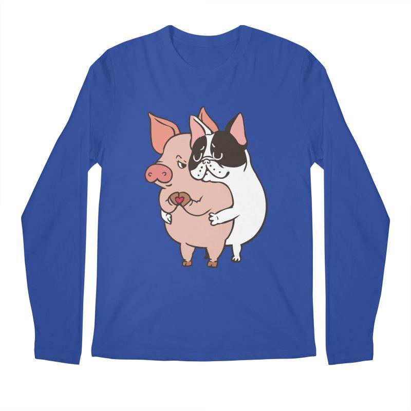 Friend Not Food Men's Regular Longsleeve T-Shirt by huebucket's Artist Shop