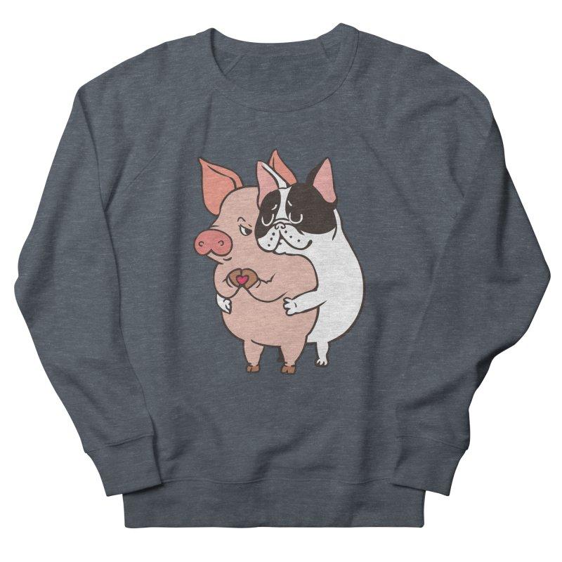 Friend Not Food Men's French Terry Sweatshirt by huebucket's Artist Shop