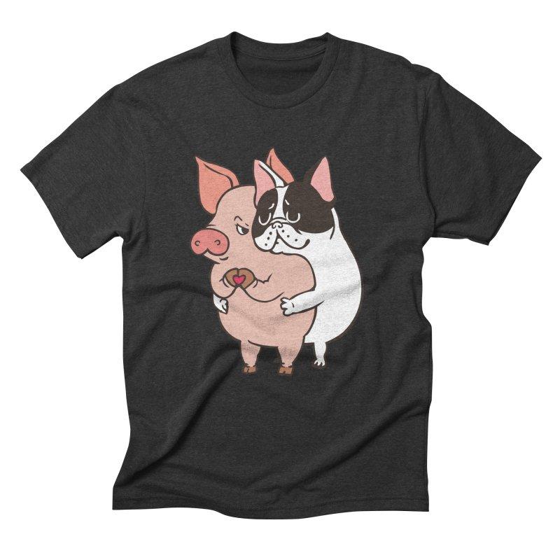 Friend Not Food Men's Triblend T-Shirt by huebucket's Artist Shop