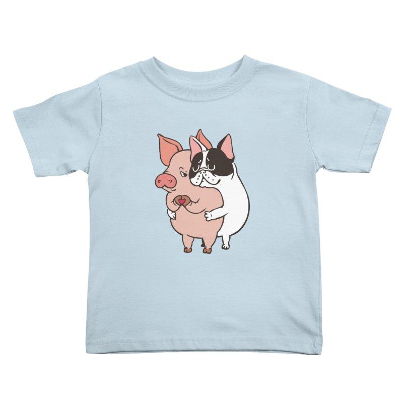 Friend Not Food Kids Toddler T-Shirt by huebucket's Artist Shop