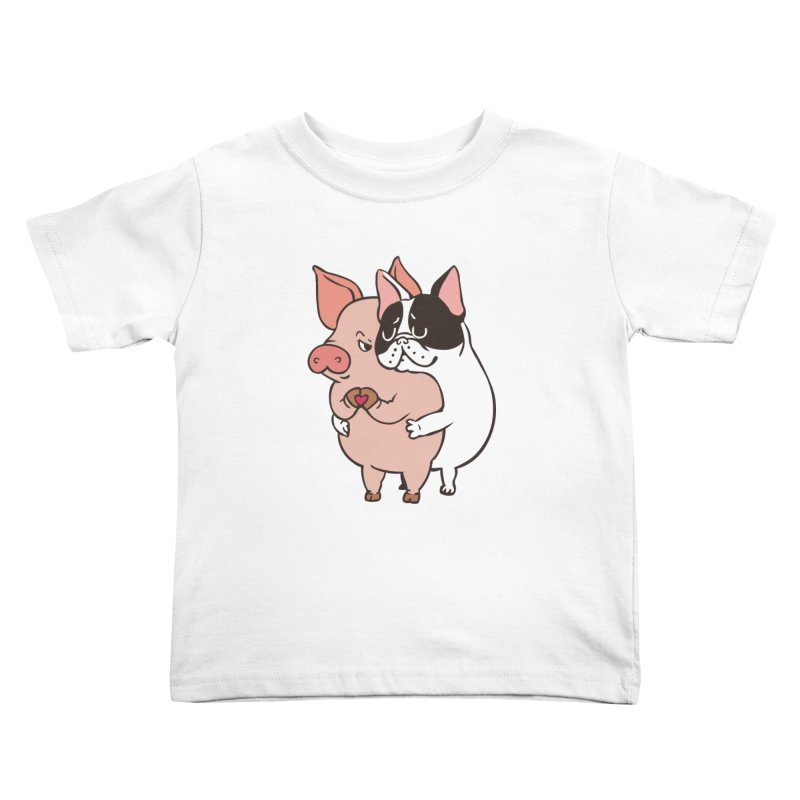 Friend Not Food Kids Toddler T-Shirt by huebucket's Artist Shop