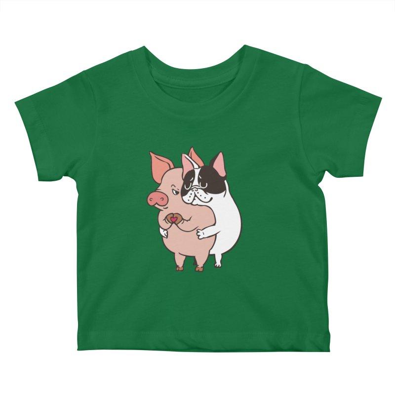 Friend Not Food Kids Baby T-Shirt by huebucket's Artist Shop