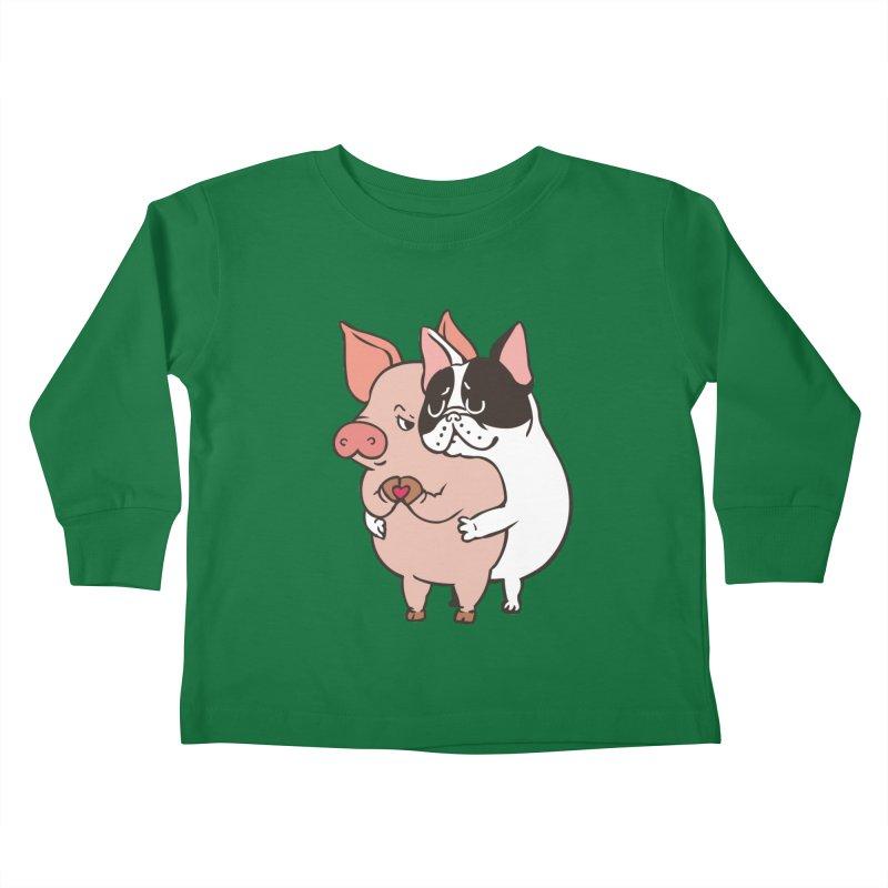 Friend Not Food Kids Toddler Longsleeve T-Shirt by huebucket's Artist Shop