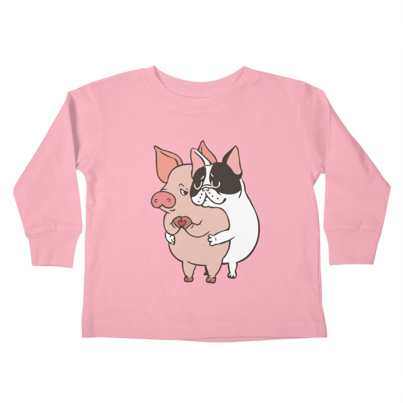 Friend Not Food Kids Toddler Longsleeve T-Shirt by huebucket's Artist Shop