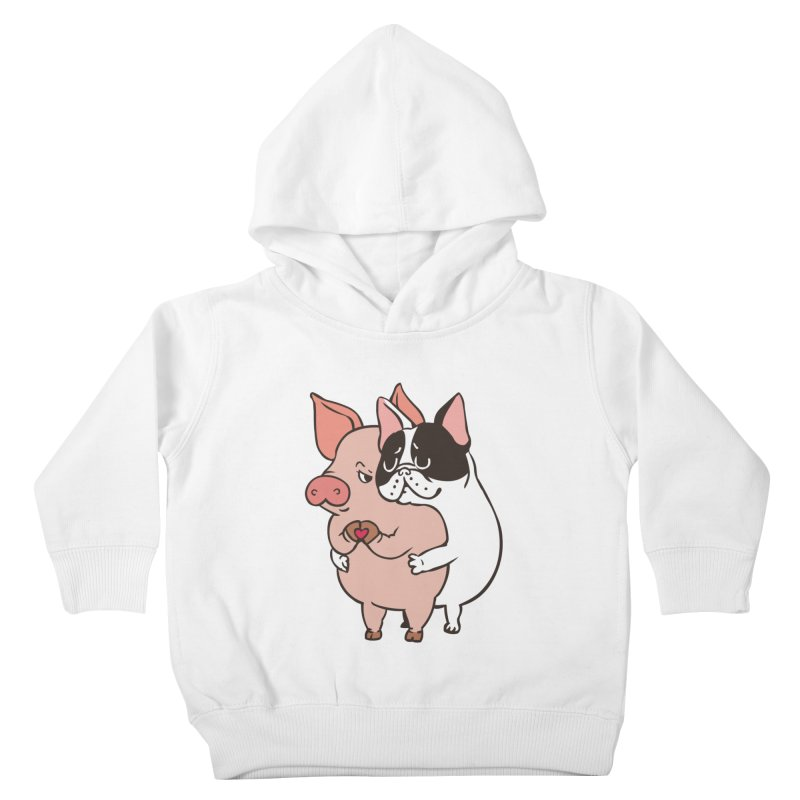 Friend Not Food Kids Toddler Pullover Hoody by huebucket's Artist Shop