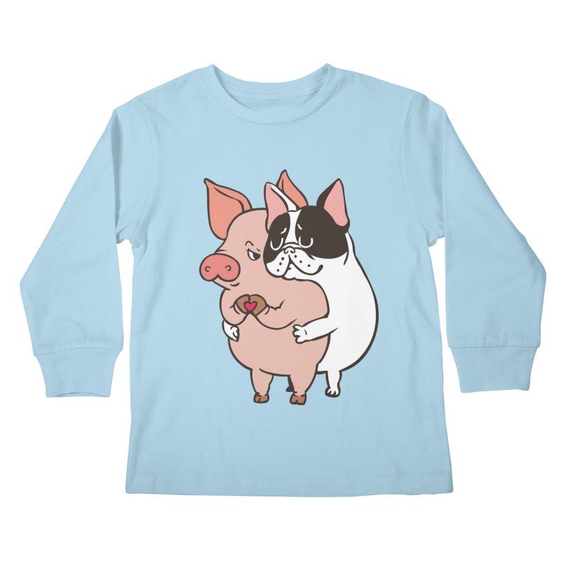 Friend Not Food Kids Longsleeve T-Shirt by huebucket's Artist Shop