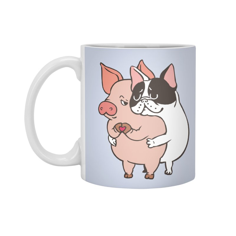 Friend Not Food Accessories Mug by huebucket's Artist Shop
