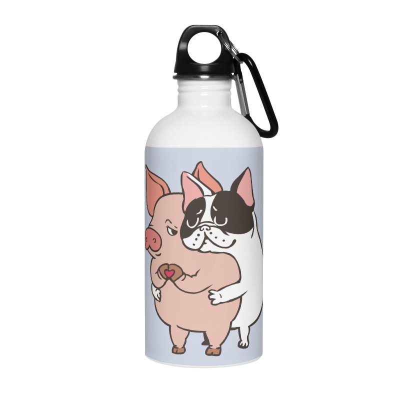 Friend Not Food Accessories Water Bottle by huebucket's Artist Shop