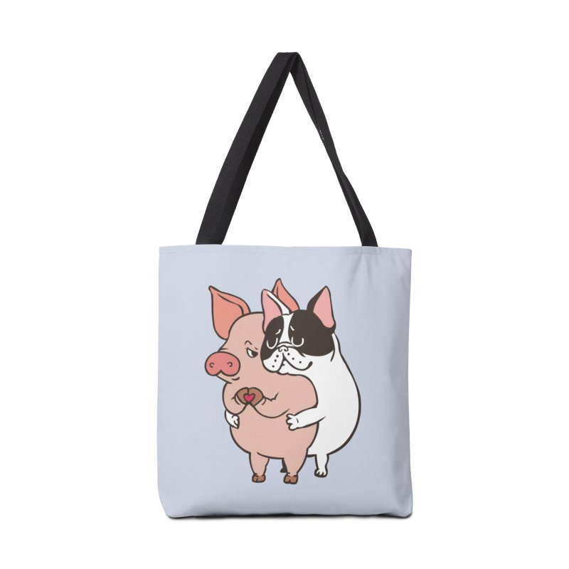 Friend Not Food Accessories Bag by huebucket's Artist Shop