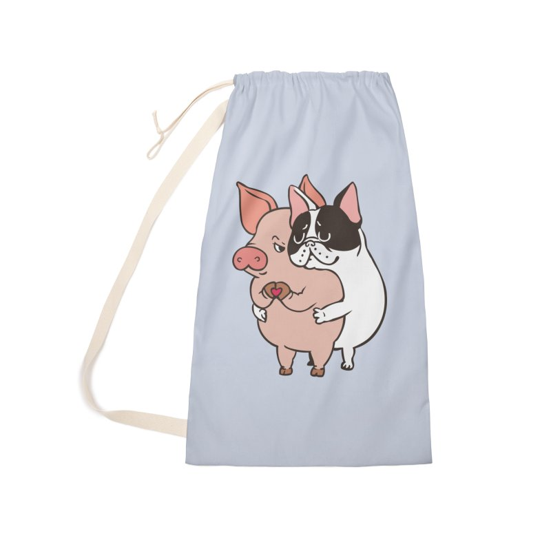 Friend Not Food Accessories Laundry Bag Bag by huebucket's Artist Shop