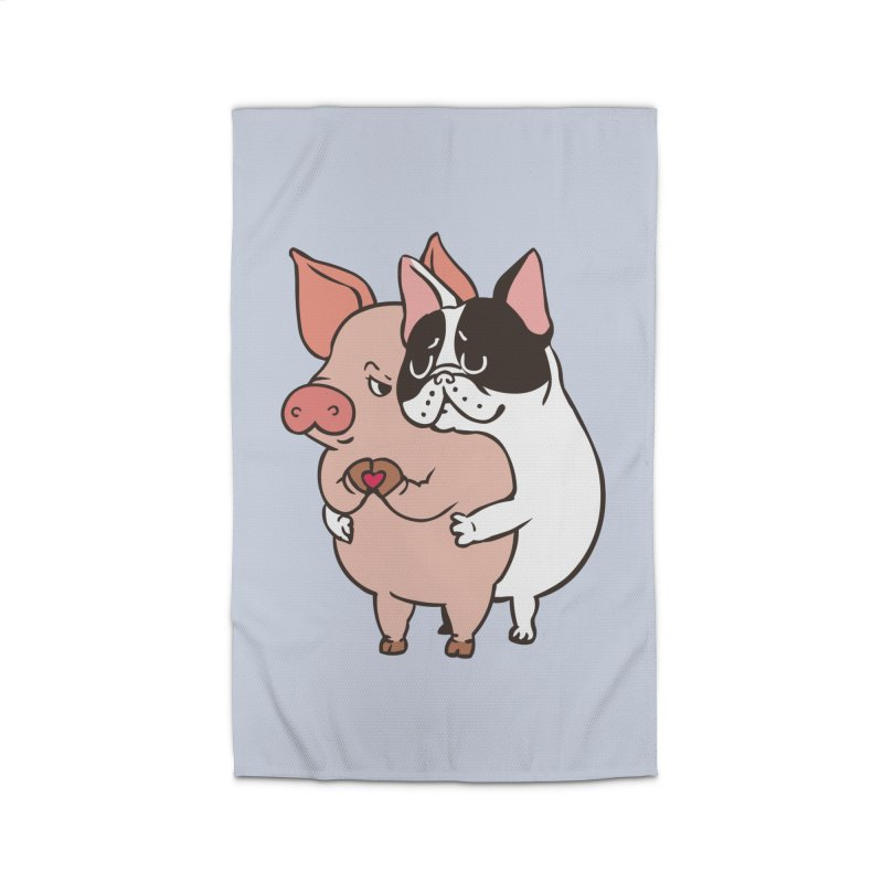 Friend Not Food Home Rug by huebucket's Artist Shop