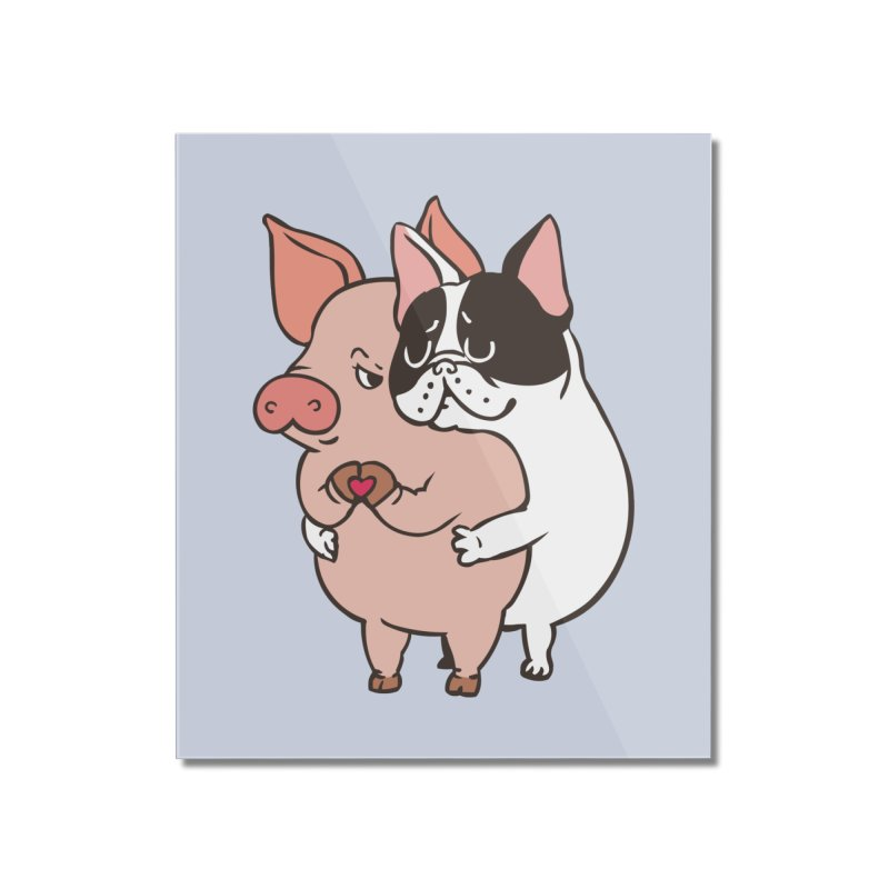Friend Not Food Home Mounted Acrylic Print by huebucket's Artist Shop