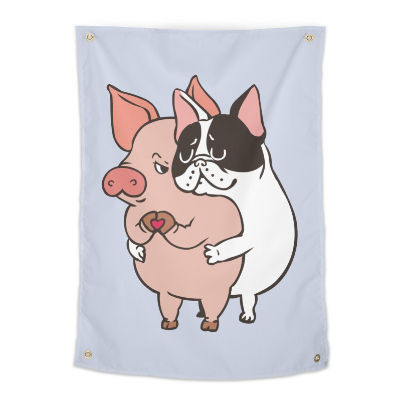 Friend Not Food Home Tapestry by huebucket's Artist Shop