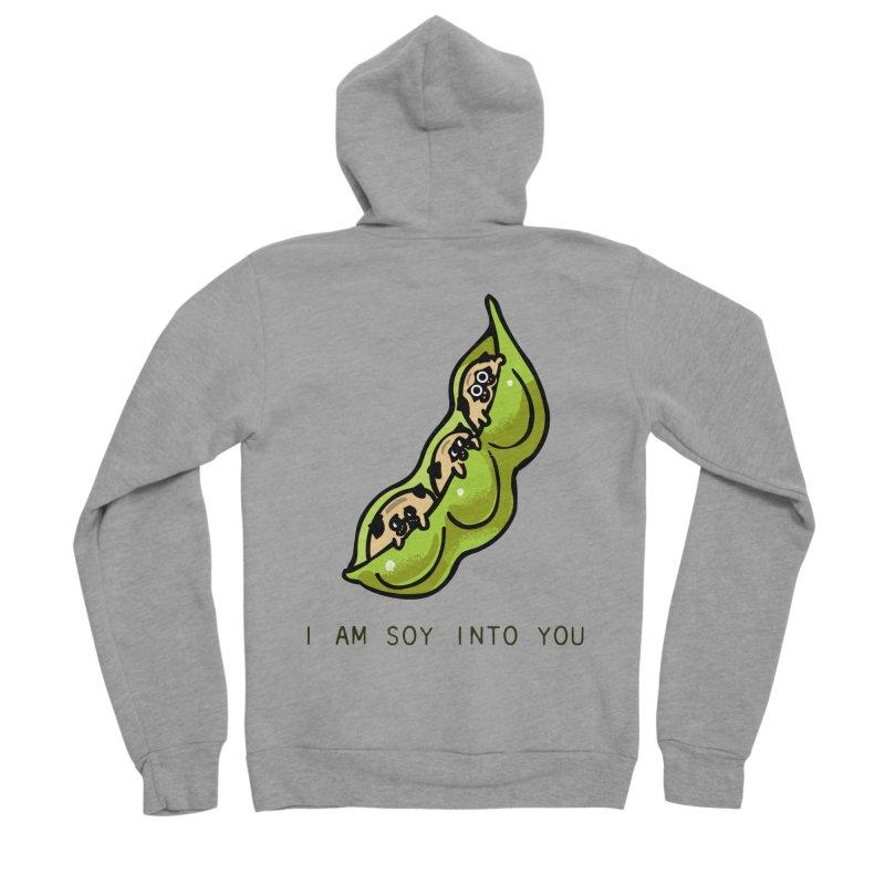 I am soy into you Men's Sponge Fleece Zip-Up Hoody by huebucket's Artist Shop