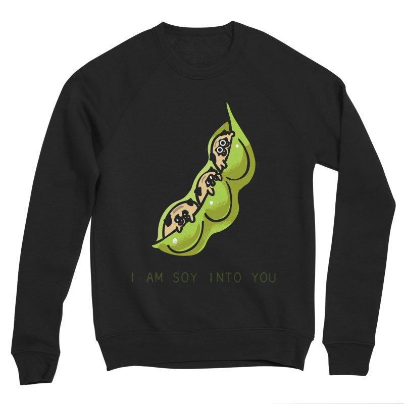 I am soy into you Men's Sponge Fleece Sweatshirt by huebucket's Artist Shop