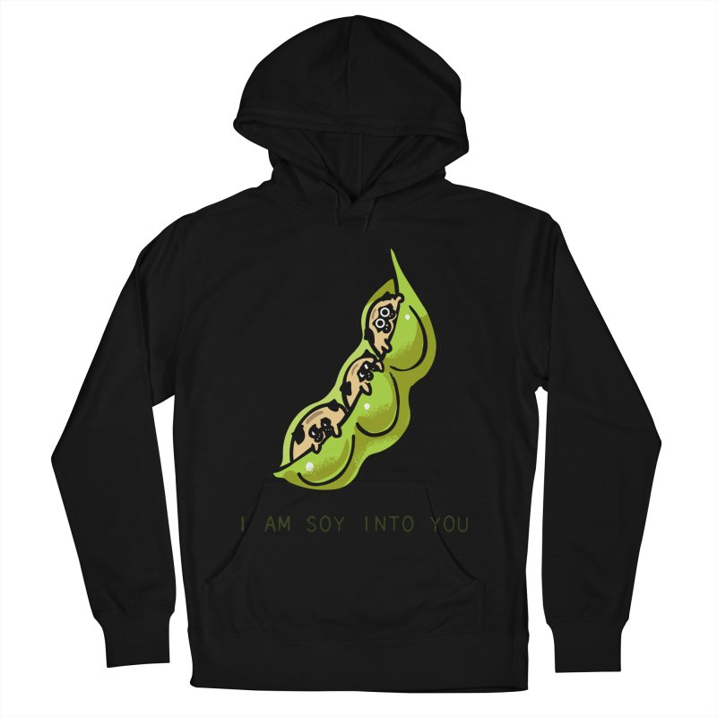 I am soy into you Men's French Terry Pullover Hoody by huebucket's Artist Shop