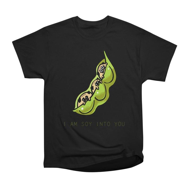 I am soy into you Women's Heavyweight Unisex T-Shirt by huebucket's Artist Shop