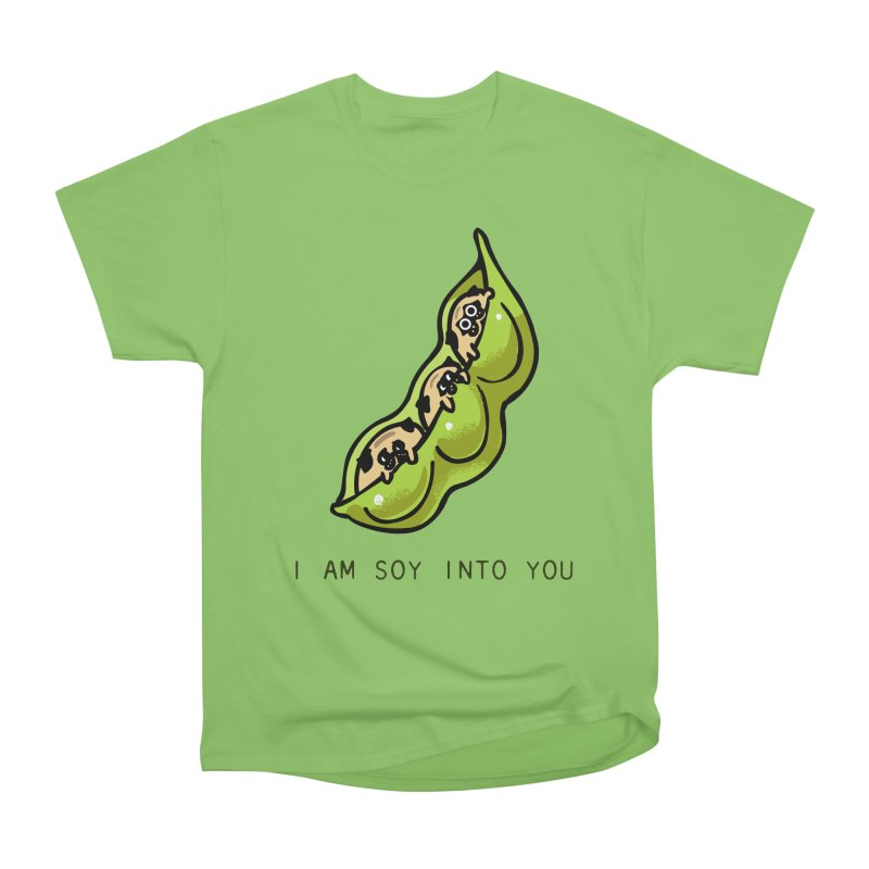 I am soy into you Women's Heavyweight Unisex T-Shirt by huebucket's Artist Shop