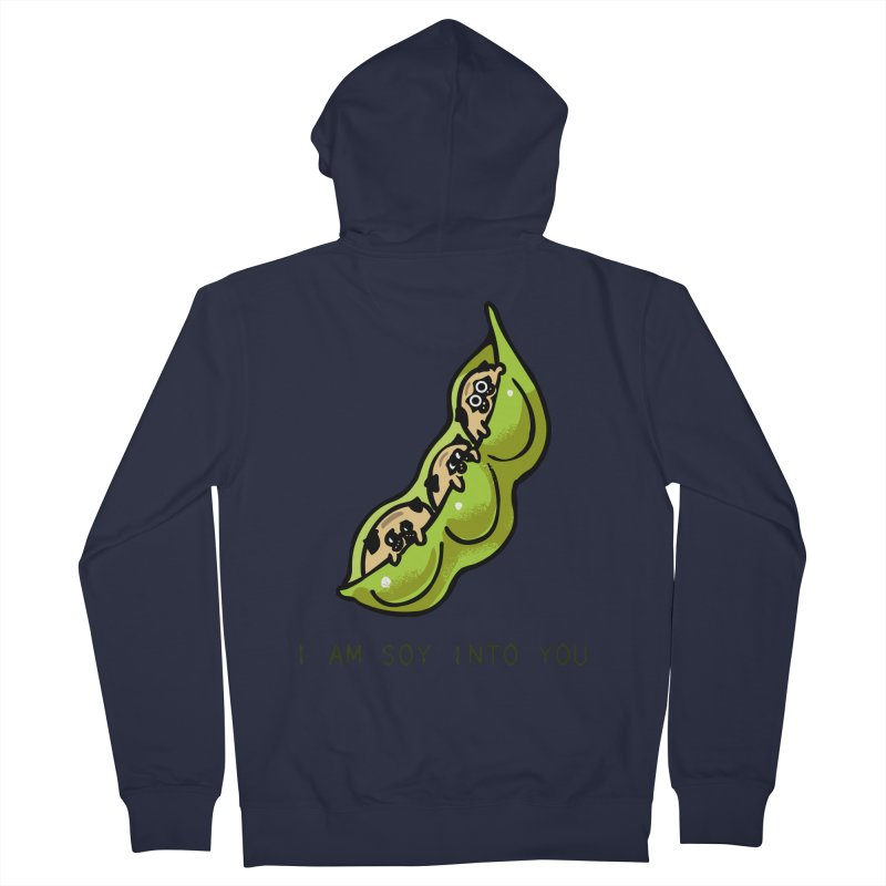 I am soy into you Women's French Terry Zip-Up Hoody by huebucket's Artist Shop