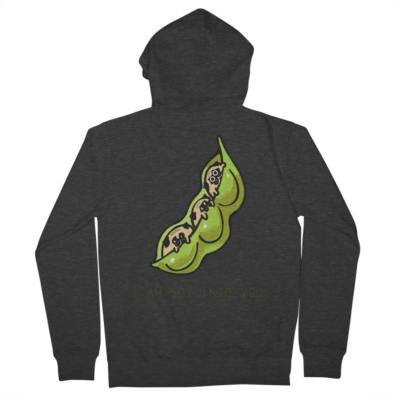 I am soy into you Men's French Terry Zip-Up Hoody by huebucket's Artist Shop