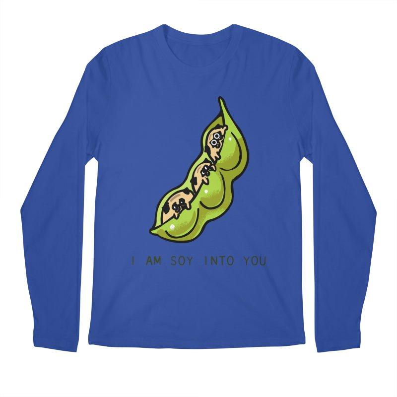 I am soy into you Men's Regular Longsleeve T-Shirt by huebucket's Artist Shop