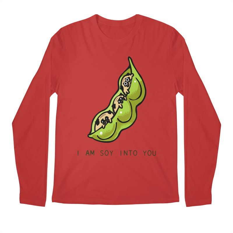 I am soy into you Men's Regular Longsleeve T-Shirt by huebucket's Artist Shop