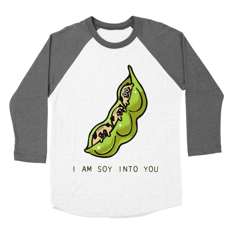 I am soy into you Women's Baseball Triblend Longsleeve T-Shirt by huebucket's Artist Shop