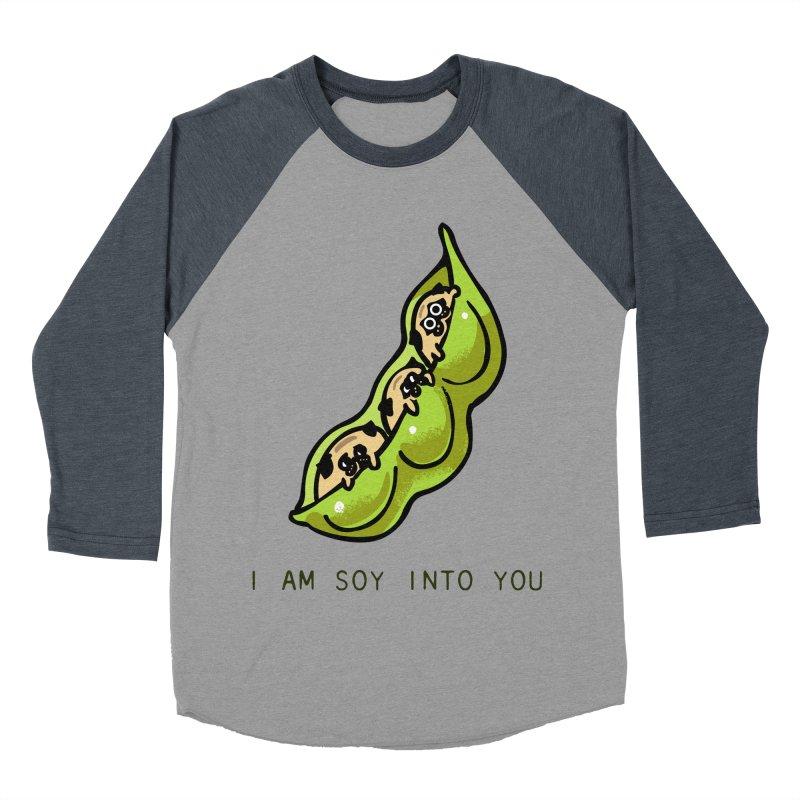 I am soy into you Women's Baseball Triblend Longsleeve T-Shirt by huebucket's Artist Shop