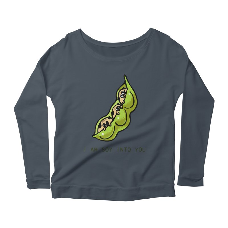 I am soy into you Women's Scoop Neck Longsleeve T-Shirt by huebucket's Artist Shop