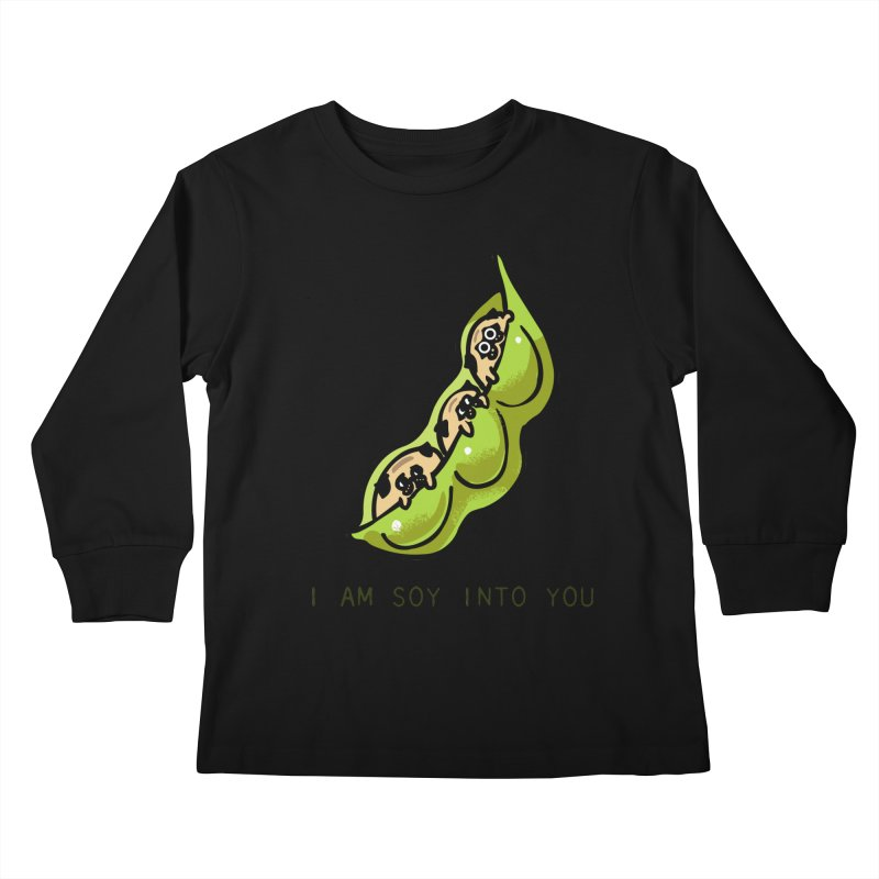 I am soy into you Kids Longsleeve T-Shirt by huebucket's Artist Shop