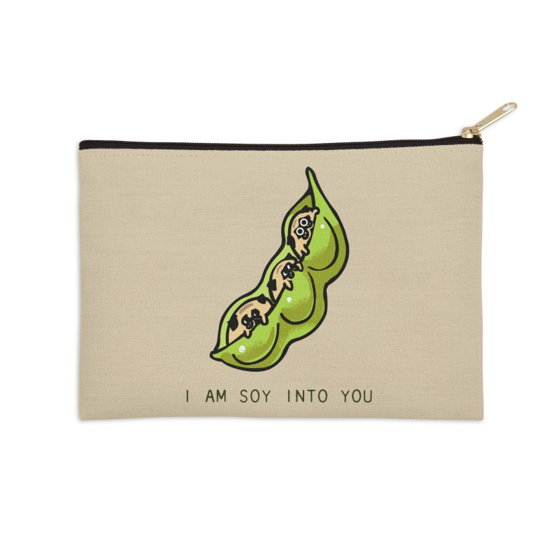 I am soy into you Accessories Zip Pouch by huebucket's Artist Shop