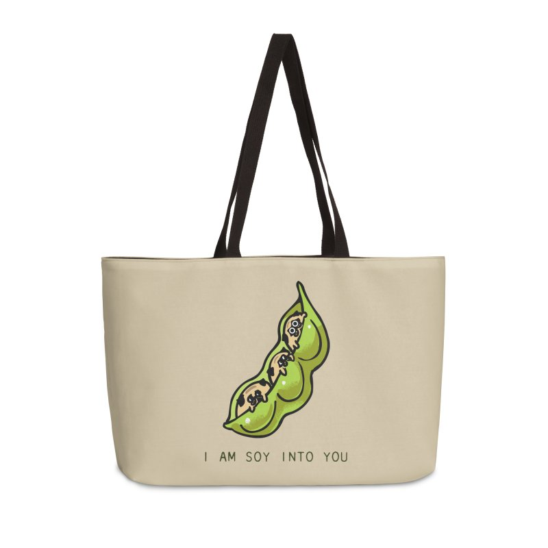 I am soy into you Accessories Weekender Bag Bag by huebucket's Artist Shop