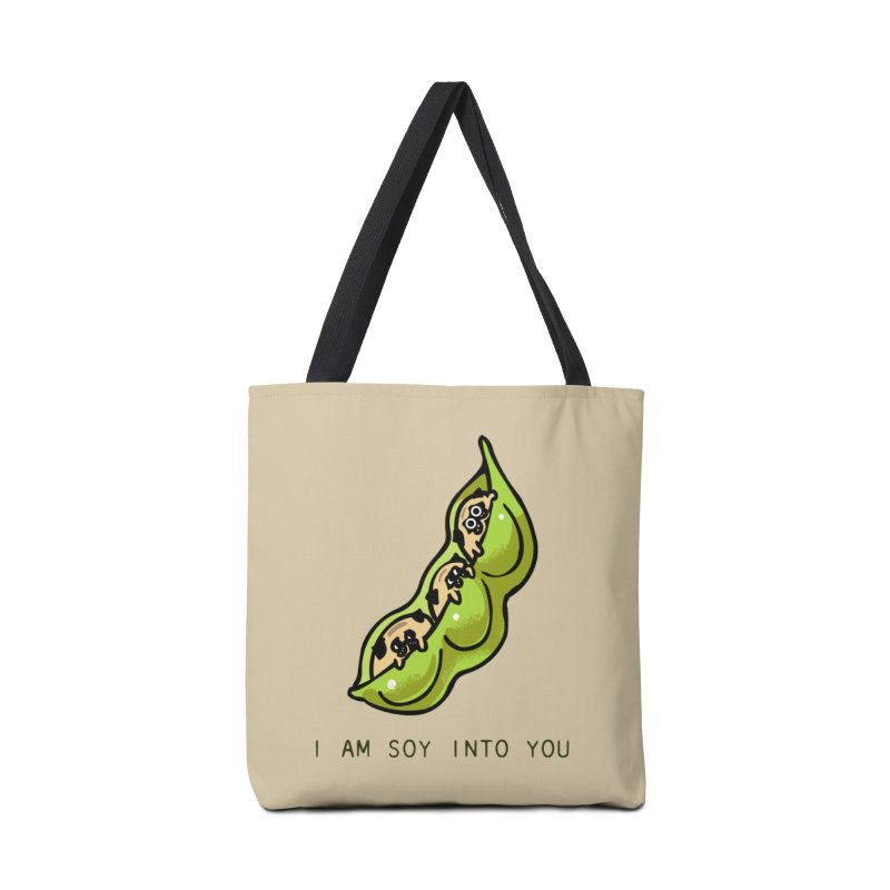 I am soy into you Accessories Bag by huebucket's Artist Shop