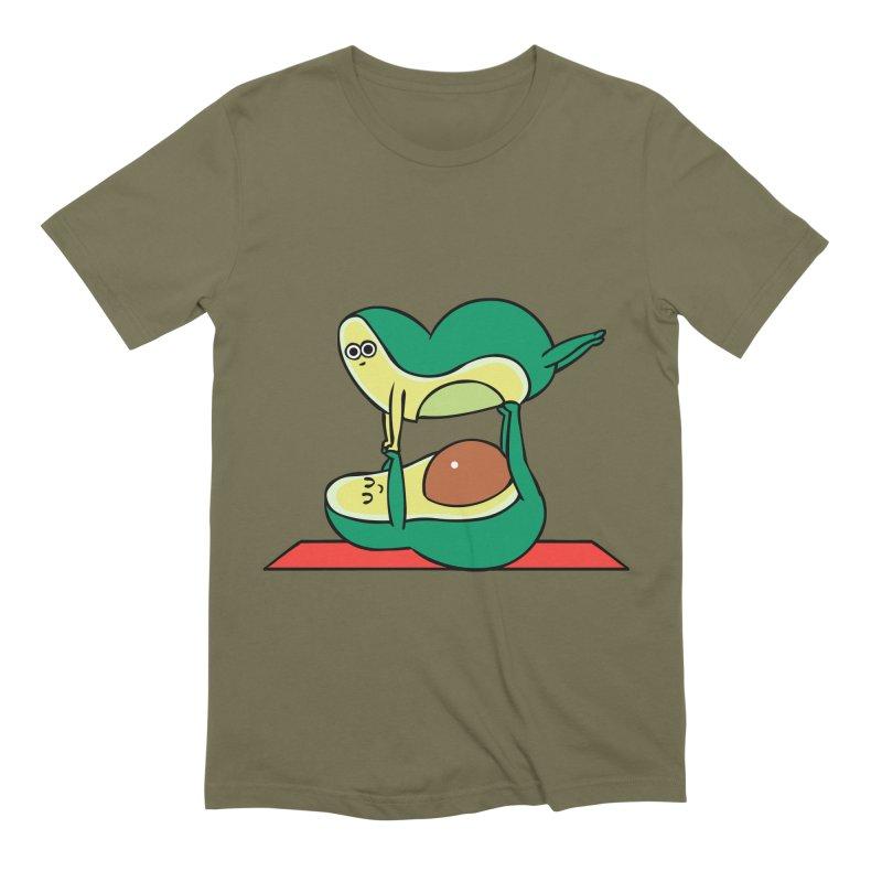 Acroyoga Avocado Men's Extra Soft T-Shirt by huebucket's Artist Shop