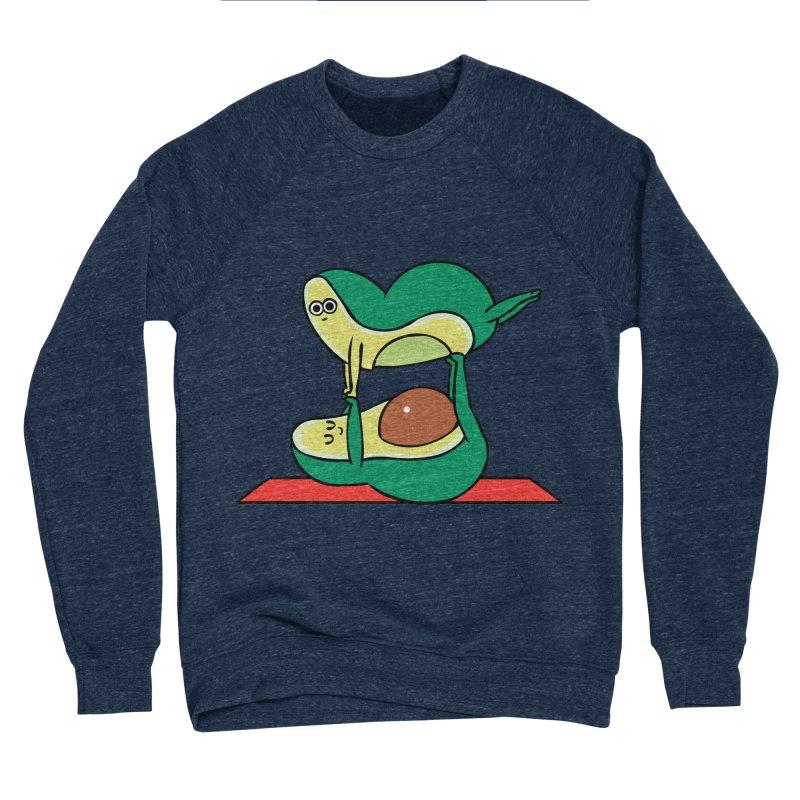 Acroyoga Avocado Men's Sponge Fleece Sweatshirt by huebucket's Artist Shop