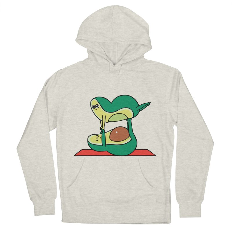 Acroyoga Avocado Women's French Terry Pullover Hoody by huebucket's Artist Shop