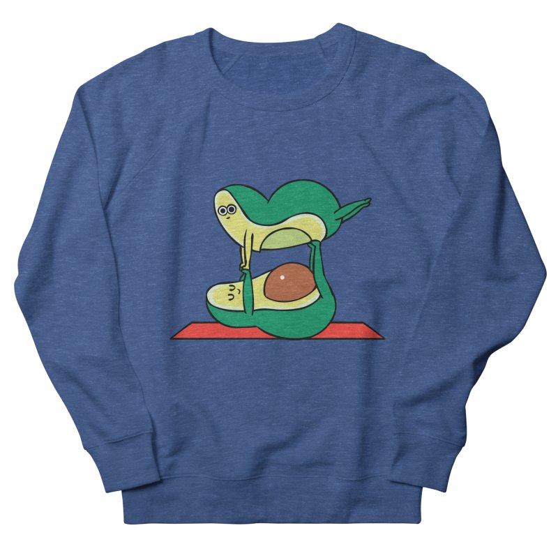 Acroyoga Avocado Men's French Terry Sweatshirt by huebucket's Artist Shop