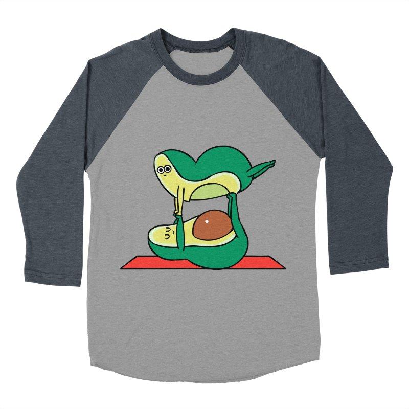 Acroyoga Avocado Women's Baseball Triblend Longsleeve T-Shirt by huebucket's Artist Shop
