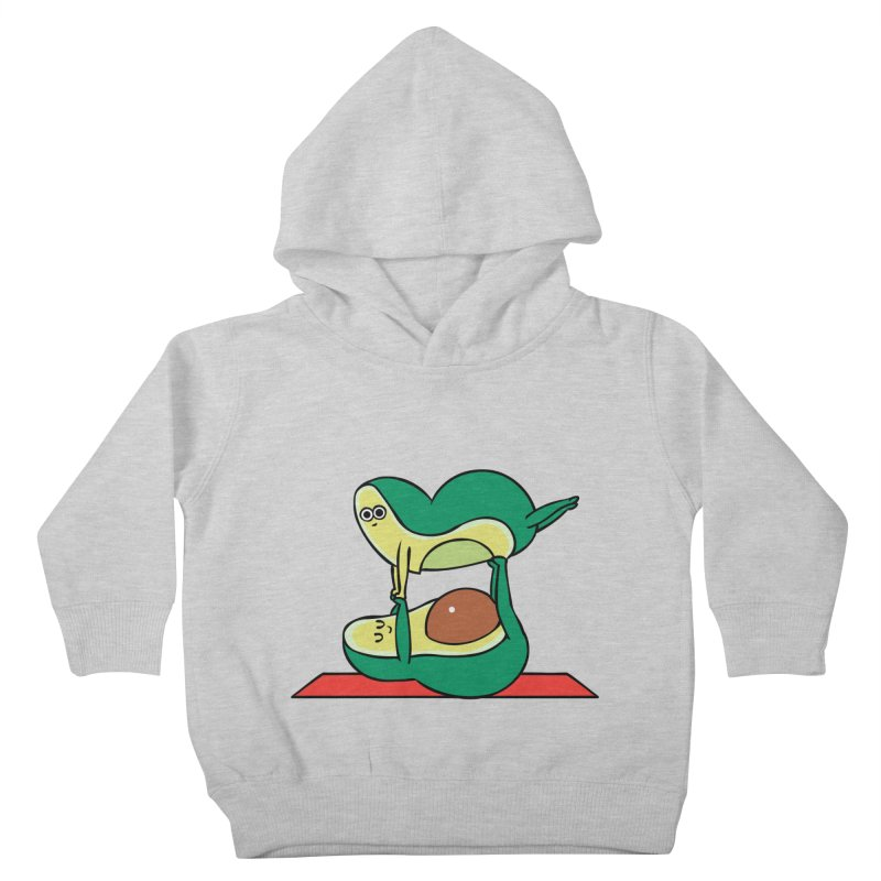 Acroyoga Avocado Kids Toddler Pullover Hoody by huebucket's Artist Shop